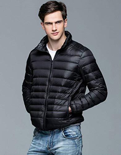 Autunno Rm Uomini Caldo Cappotto Inverno Taglie Tuta Di Trapuntato Piumino Comprimibile Ultra Comode E Vestiti Facile Sportiva Schwarz nTwCHzS8q