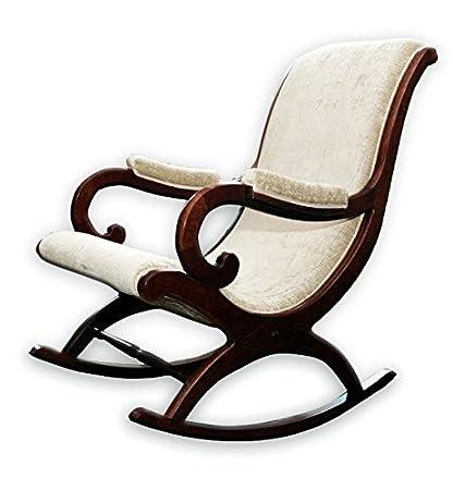 Surprising Aarsun Wooden Rocking Chair Standard 1 Off White Download Free Architecture Designs Rallybritishbridgeorg