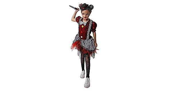 Costumizate! Disfraz de Payasa Loca para niños talla7 a 9 años ...