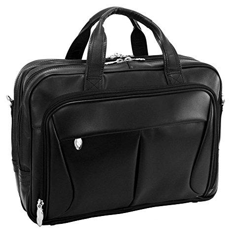 mckleinusa-pearson-84565-black-expandable-double-compartment-briefcase