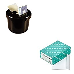 KITLEE40100QUA37113 - Value Kit - Quality Park Open Side Booklet Envelope (QUA37113) and Lee Ultimate Stamp Dispenser (LEE40100)
