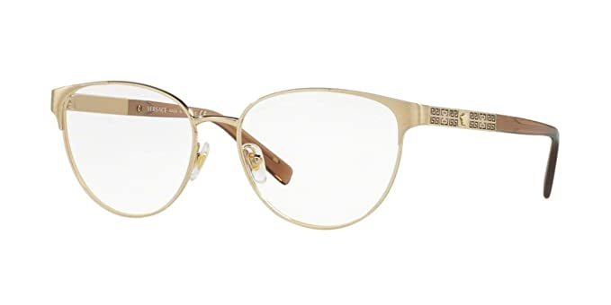 86daa196a6 Image Unavailable. Image not available for. Color  Versace VE1238 Eyeglass  Frames 1339-52 - 52mm Lens ...