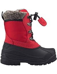 Childrens Winter Snow Boots | Neutral Gray, Lava Orange, Deep Red, Plum Purple, Teal & Mint, Celestial Blue, Stealth Black