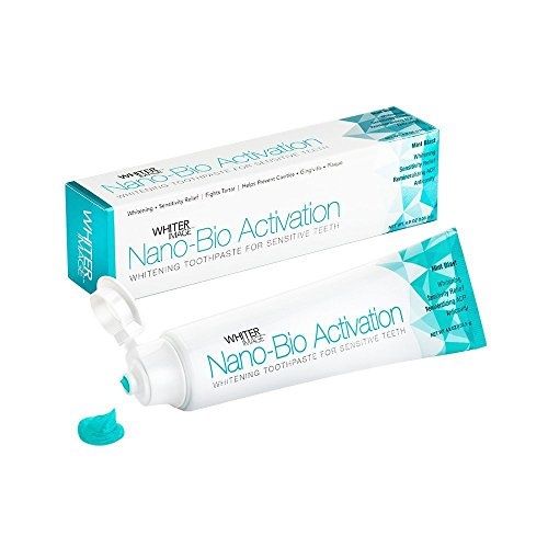 Whiter Image Nano-Bio Activation toothpaste-for sensitive teeth-dentist recommended (Bio Teeth)