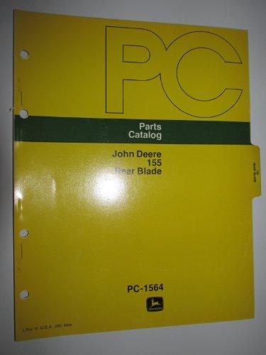 Rear Blade Parts Catalog - John Deere 155 Rear Blade Parts Catalog Book Manual Original PC1564