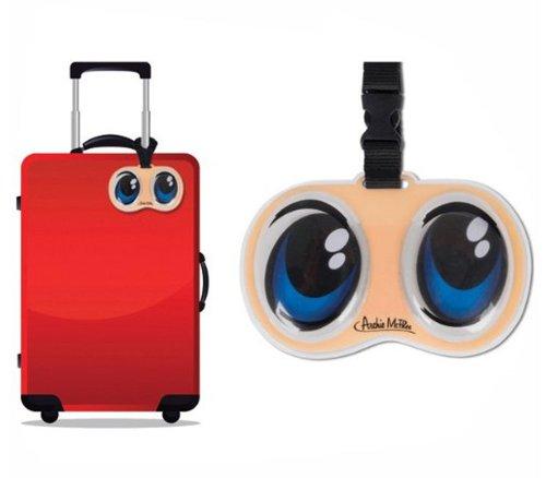 fdb2587b1e6b Accoutrements Anime Eyes Luggage Tag