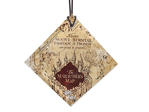 Trend Setters Harry Potter Marauders Map I Solemnly Swear Starfire Prints Hanging Glass