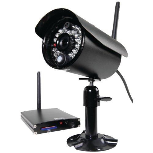 First Alert D-575 Digital Wireless Security Recording System (Black) - First Alert Security System