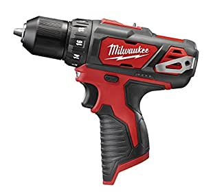 Milwaukee 2407-20 M12 3/8 Drill Driver - Bare