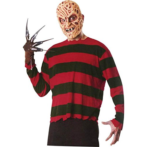 (Rubie's Men's A Nightmare On Elm Street: Freddy Krueger Blister Set, Multicolor, One)