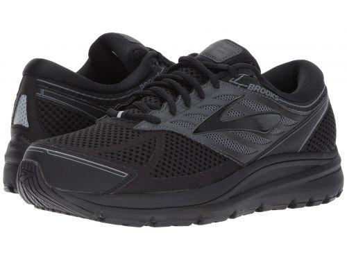 Brooks(ブルックス) メンズ 男性用 シューズ 靴 スニーカー 運動靴 Addiction 13 - Black/Ebony [並行輸入品] B07C8GN799