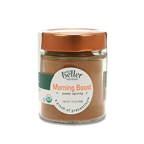 Rachel Beller Nutrition Power Spicing - MORNING BOOST - 1.4 oz - All Organic