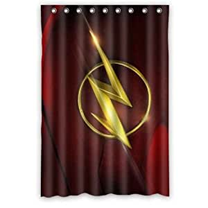 Image Unavailable Not Available For Color The Flash Waterproof Polyester Fabric Bathroom Shower Curtain