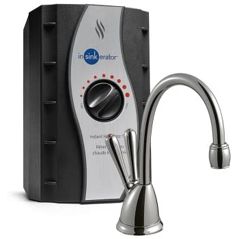 InSinkErator View Instant Hot & Cold Water Dispenser System - Faucet & Tank, Chrome, HC-View-C