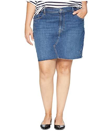 (Levi's Women's Plus-Size Deconstructed Skirt, Celestial Studs 42 (US 22))
