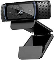 Webcam Logitech C920 Full HD 1080p Preta - 960-000764 - V.C