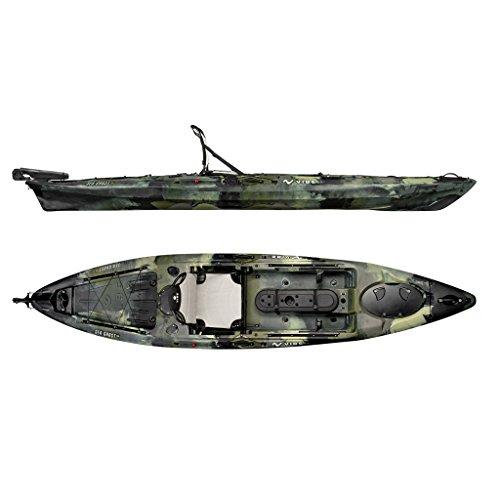 Vibe Sea Ghost 130 Angler Kayak + Paddle