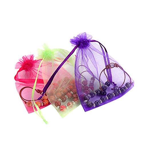 Price comparison product image Drawable Jewelry Organza Bags Packaging Wedding Party Decorations Spinning Amp Pouches - Storage Baskets