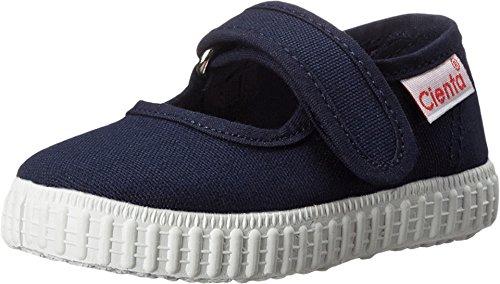 Cienta Girls Mary Jane Shoe, Navy, 24 M EU / 7.5 M US Toddler]()