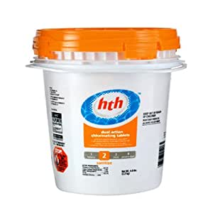 Arch chemical 41236 hth 3 inch super for Garden pool chemicals