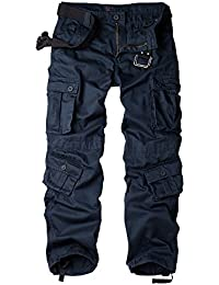 Men's Outdoor Wild Military 8 Pockets Cargo Pant