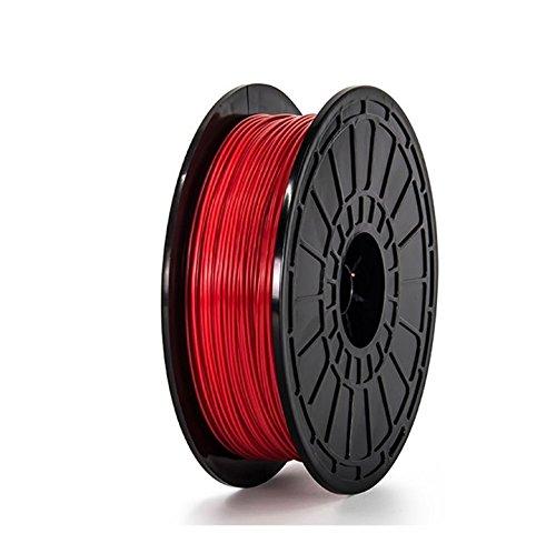 PLA-Red-FlashForge-3D-Printer-Premium-Filament-175-mm-Diameter-NW06-Kg-Per-Spool-for-Dreamer-and-Finder-3D-Printers