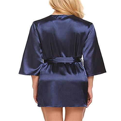 Robe Jutoo Femmes Perspective Lingerie Briefs De Dentelle Sous Bleu Nuit En vêtements Sexy Vêtements kZOPN8n0wX