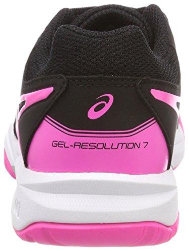 bambini 7 resolution 9020 Gel rosa caldo Gs argento unisex Scarpe Asics nere per da nero tennis wzaqEEFn