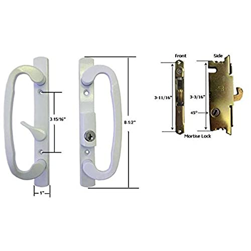 Slide Lock For Glass Door: Pella Door Handle: Amazon.com