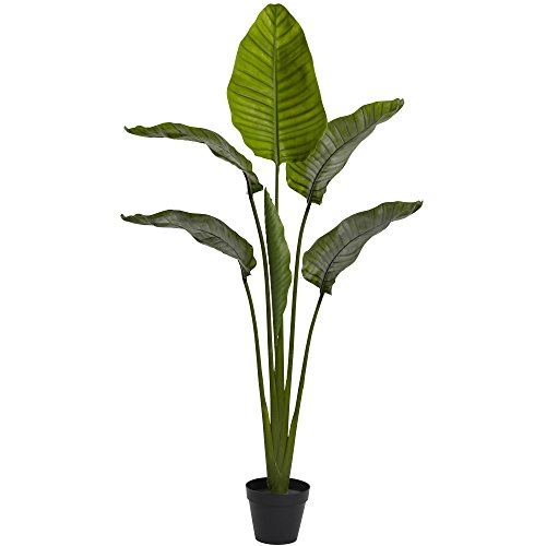 (Nearly Natural Travelers Palm Indoor/Outdoor UV Resistant Tree, 64