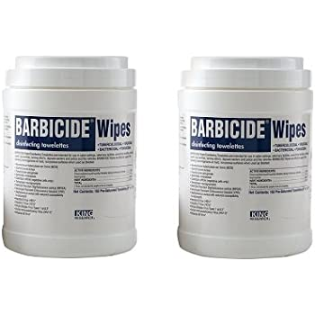 Barbicide Wipes, 160 Count (2-(160 Count))