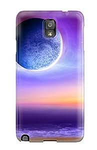 Galaxy Note 3 Hybrid Tpu Case Cover Silicon Bumper Space Art
