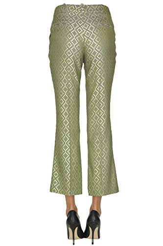 Mujer Ezgl187004 Kiltie Pantalón Verde Poliéster TFw0455nqx