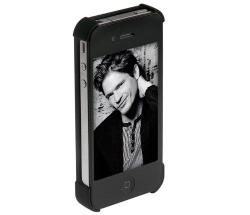 Brink - Custodia in pelle per iPhone, colore: Nero