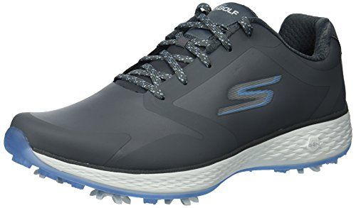Skechers Performance Women's Go Golf Pro-Shoes, Gray/Blue,8.5 M US