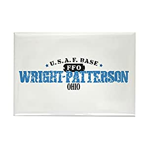 """CafePress - Wright Patterson Air Force - Rectangle Magnet, 2""""x3"""" Refrigerator Magnet"""