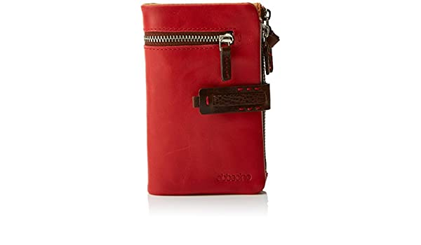 Abbacino 70032, Cartera para Mujer, Rojo (Red), 9x3x15 cm (W ...
