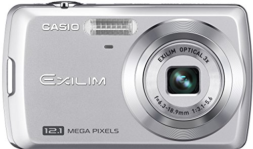 Casio Exilim EX-Z35 12 MP Digital Camera with 3x Optical Zoom and 2.5-Inch LCD (Silver)