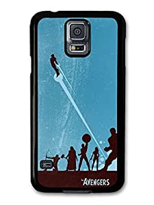 Avengers Superheroes Comic Illustration case for Samsung Galaxy S5