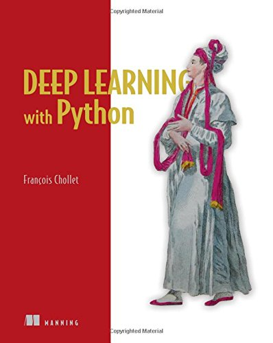 Book cover of Deep Learning with Python by Francois Chollet