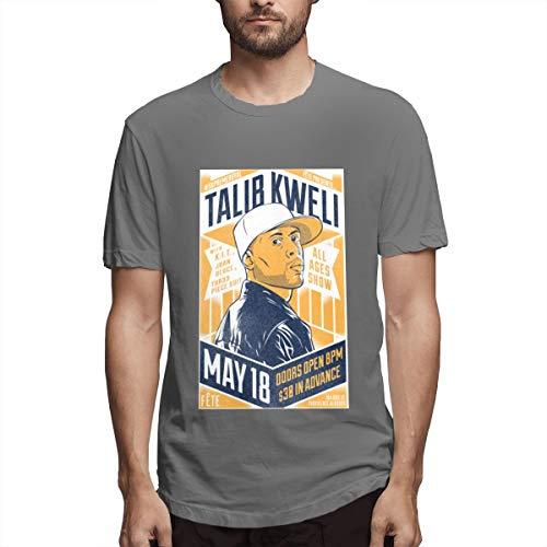 Seuriamin Talib Kweli Prisoner of Conscious Mens Jogging Short Sleeve Shirts Deep Heather