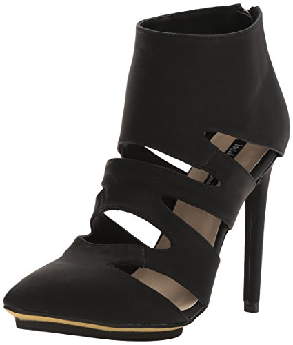 Michael Antonio Women's Lake Ankle Bootie, Black, 6.5 US/US Size Conversion M US