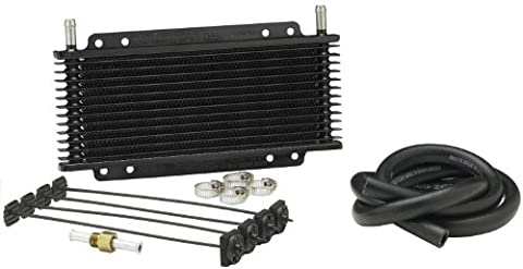 Hayden Automotive 676 Rapid-Cool Plate and Fin Transmission Cooler (Honda Fit Tow Hitch 2013)