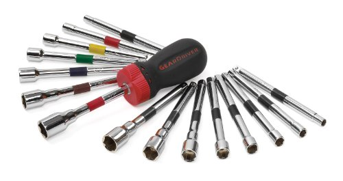 GEARWRENCH 8916 16 Piece Ratcheting Screwdriver Nut Driver ()