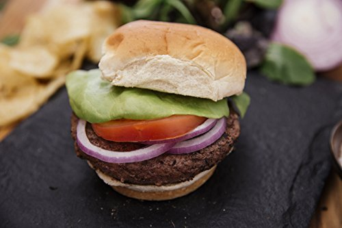 18 (5oz) Grass-fed Bison Burgers - Antibiotic-free, grass-fed bison burgers from american farmers