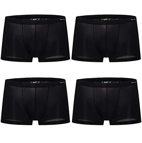 WINDAY Men Briefs Breathable Ice Silk Boxer Bikinis and Briefs 4 ()