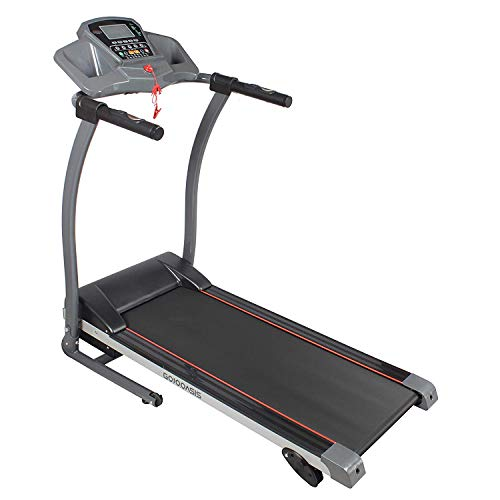 Feelway Treadmill Folding Motorized Running Exercise Machine Easy Assembly w/Incline Pre-Set Programs for Home Use