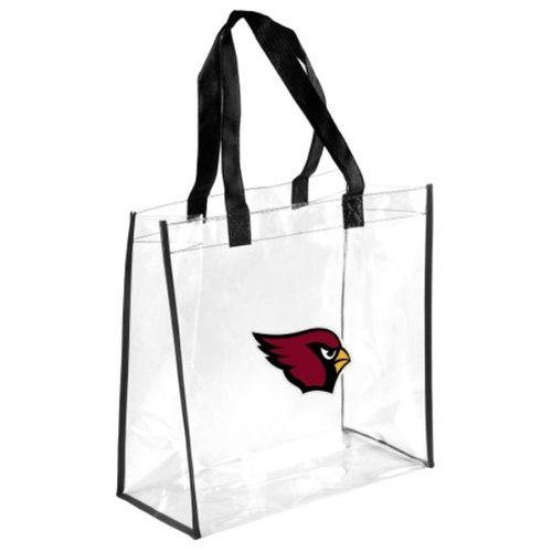 2013 Nfl Football Clear See Thru Reusable Bag - Pick Team (arizona Cardinals)