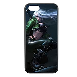 Katarina-002 League of Legends LoL case cover for Apple iPhone 5/5S - Hard Black