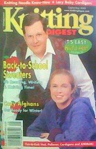 Knitting Digest (September 2000) (Knitting Hats Felted)